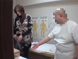 Japanese fingered to orgasm..