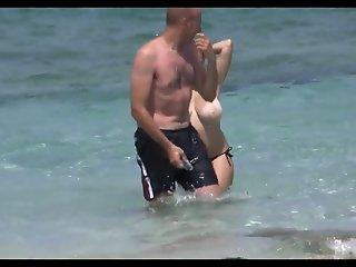 big tits spain beach_720p