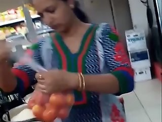 Hidden Indian In Supermarket..