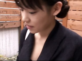 Asian business lady lets a..