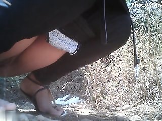 Girls Pissing voyeur video 14