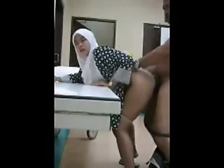 Indonesian Muslim Doggy fucked