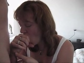 My wife swallows cum after..