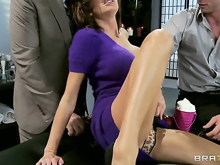Veronica Avluv first time..