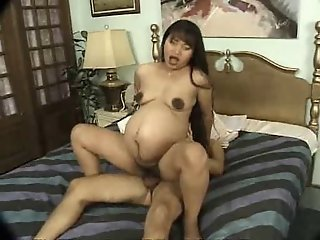 Pregnant Mature Asian Fucked..