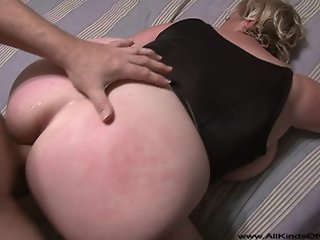 Big Tit Big Butt Blonde Milf..